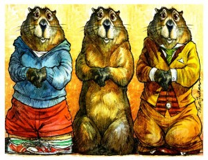 groundhogs for TO SEE OR NOT TO SEE