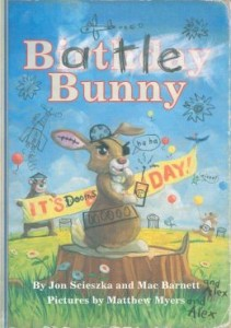Battle Bunny by Jon Scieszka, Mac Barnett, and Matthew Myers