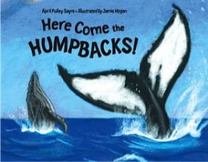 Here Come the Humpbacks written by April Pulley Sayre illustrated by Jamie Hogan