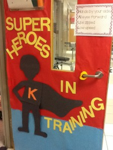 super hero door